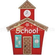 School House Applique