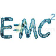 E=MC2 Applique