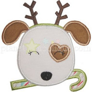 Reindeer Puppy Applique