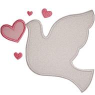 Love Dove Applique
