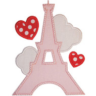 Eiffel Tower Applique