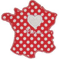 Love France Applique