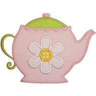 Tea Pot Applique