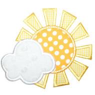 Sun and Cloud Applique