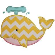 Cute Whale Applique