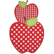 Stacked Apples Applique