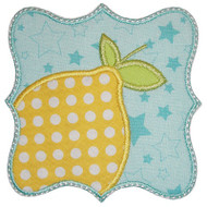 Lemon Patch Applique