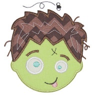 Zombie Boy Face