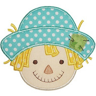 Scarecrow Boy Applique