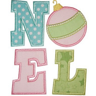 Noel Ornament Applique