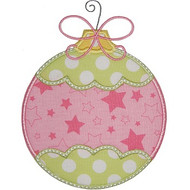 Frilly Ornament Applique