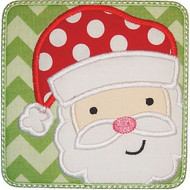 Santa Patch Applique