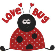 Love Bug Applique