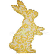 Simple Bunny 3 Applique