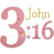 John 3:16 Applique
