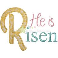 He is Risen Applique