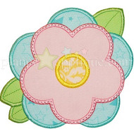 Spring Flower 2 Applique