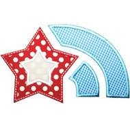 Patriotic Star Burst