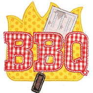 BBQ Applique