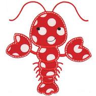 Cute Lobster Applique