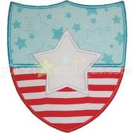 Flag Badge Applique