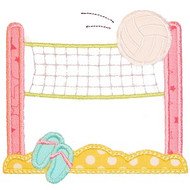 Volleyball Net Applique
