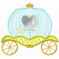 Princess Carriage Applique