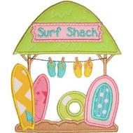Surf Shack Applique