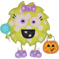 Boy Girl Candy Monster