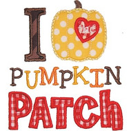 I Love The Pumpkin Patch