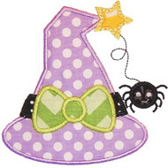 Witch Hat 2 Applique