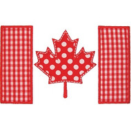 Canadian Flag Applique