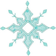 Snowflake 4 Applique