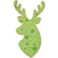 Christmas Buck Applique