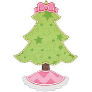 Frilly Christmas Tree