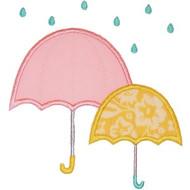 Rainy Umbrellas