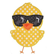 Cool Chick Applique