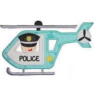 Police Chopper Applique
