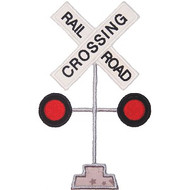 Train Crossing Applique