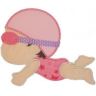 Swim Baby Applique