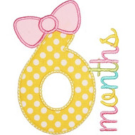 Birth Month Bow Set