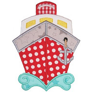 Boat 4 Applique