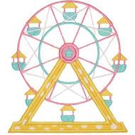 Ferris Wheel Applique