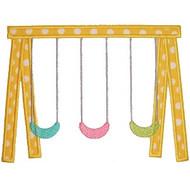 Swing Set Applique