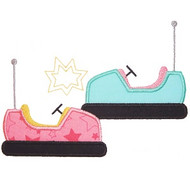 Bumper Cars Applique