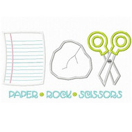 Paper Rock Scissors Set