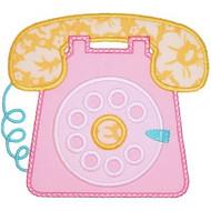 Retro Phone Applique