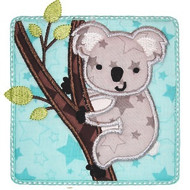 Koala Patch Applique