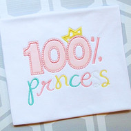100 Percent Princess
