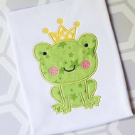Frog Prince Applique